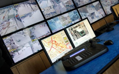 Wireless network CCTV solution for Watford town centre