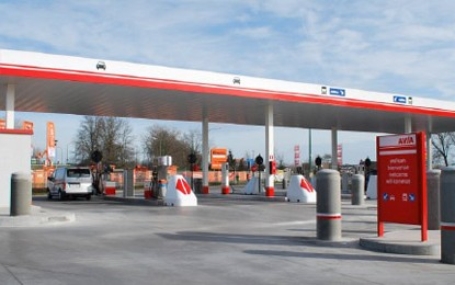 Grundig protects Avia self-service petrol stations
