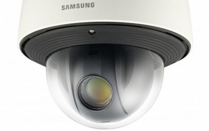 Samsung strengthens WiseNetIII camera range with launch of SNP-6320 2MP Full HD PTZ speed dome