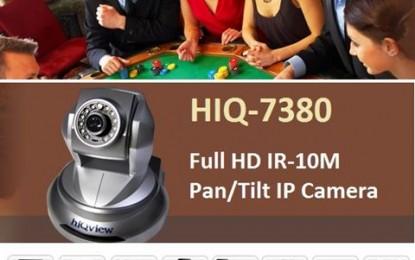 Full HD PT IP camera with IR