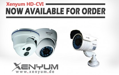 Xenyum Launching High Performance Video Surveillance Cameras with HD-CVI Technology